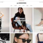 LUISAVIAROMA home page screenshot on April 1, 2019