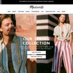 Madewell home page screenshot on April 19, 2019