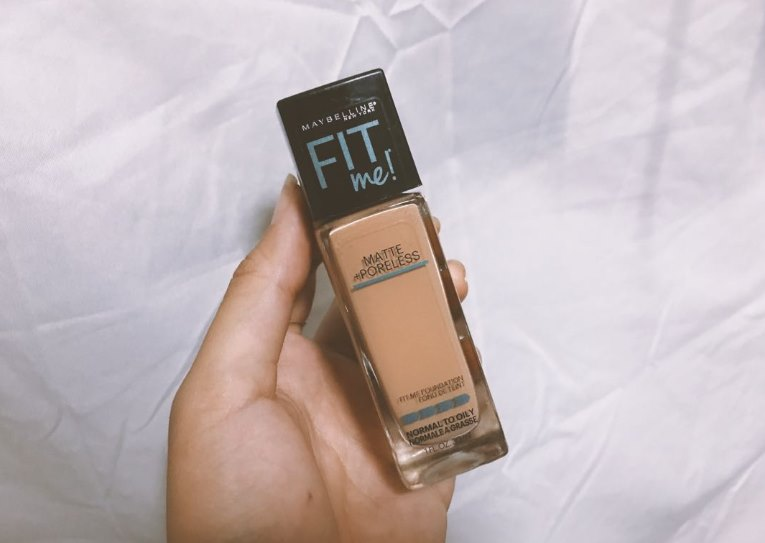 Maybelline Fit Me Matte + Poreless Foundation Review - Featured-Image
