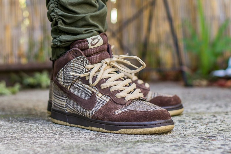 reputable site 62322 307e1 Nike Dunk High Pro SB  Tweed  Review