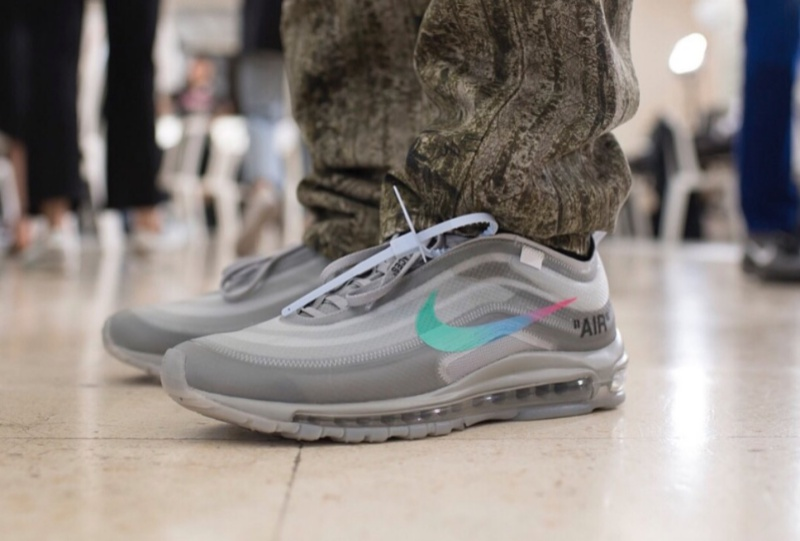 cheap for discount 7f25c 581ee OFF-WHITE x Air Max 97  Menta  Review