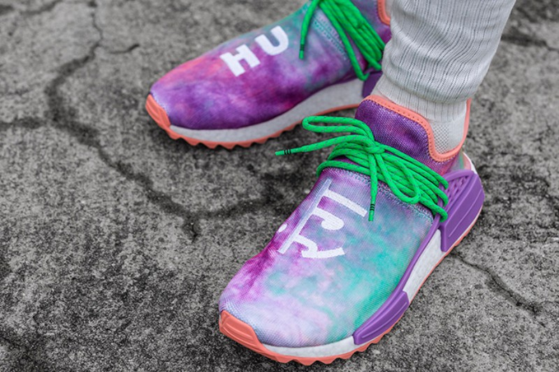brand new 80be1 852e8 Pharrell x Adidas NMD Human Race Trail 'Holi Festival' Review