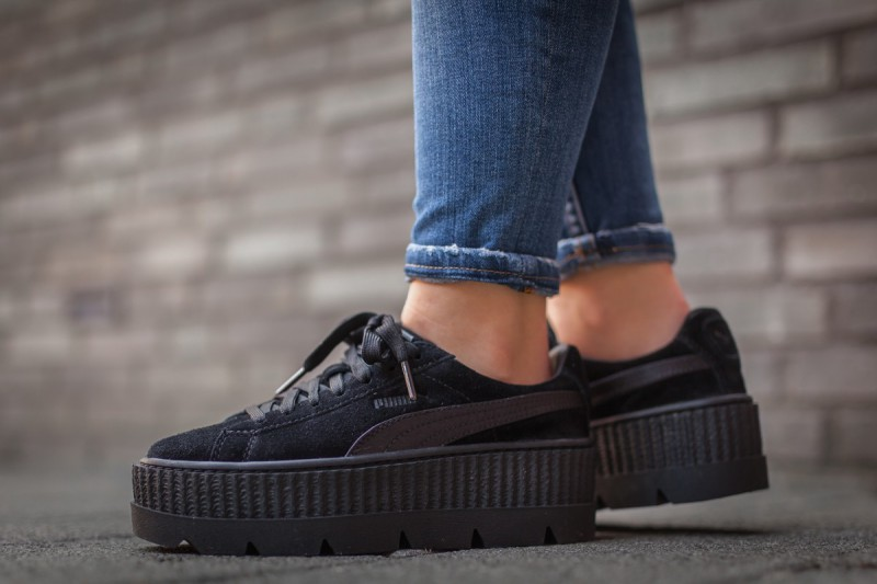 newest a3c53 ab96f Puma x Fenty Women's Cleated Creeper Suede Review