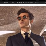 Reiss home page screenshot on April 11, 2019