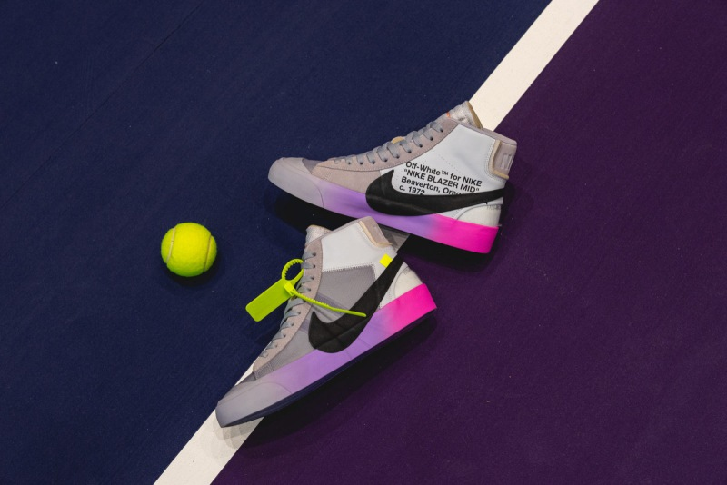 nike blazer mid x off white serena williams