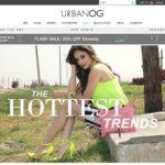 Urban OG home page screenshot on