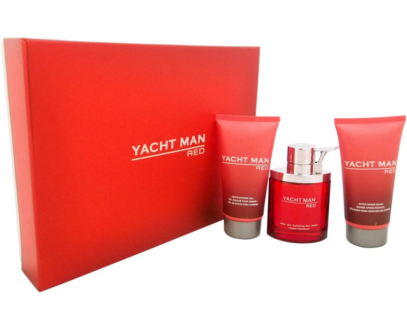 Yacht Man Red by Myrurgia Review 2