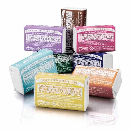 Dr. Bronner's Organic Castile Bar Soap 1