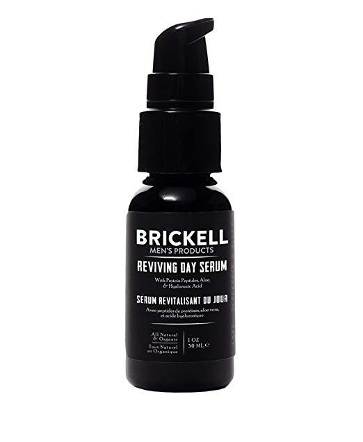 Brickell Men's Anti Aging Reviving Day Serum for Men