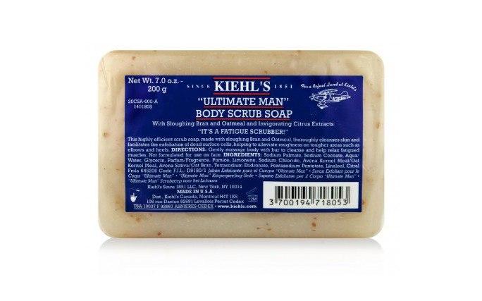 Kiehl's Ultimate Man Body Scrub Soap