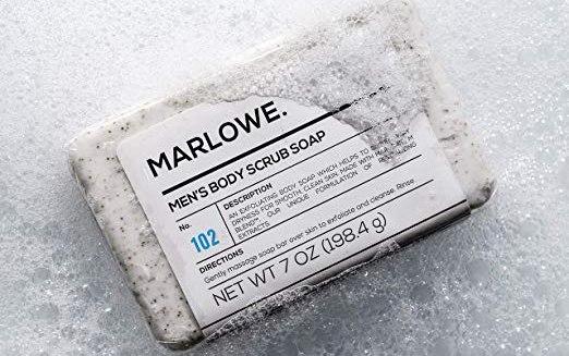 Marlowe No. 102 Men's Body Scrub Soap