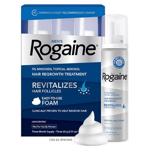 Men's Rogaine 5% Minoxidil Foam 1