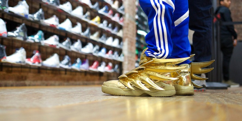 Adidas X Jeremy Scott Wings 3 0 Gold Review