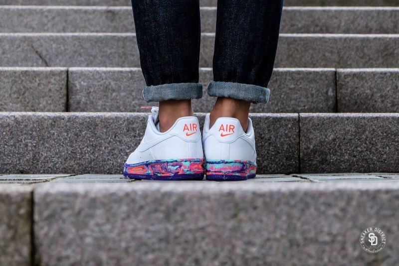 Air Force 1 '07 LV8 'Multi-Color Marble' 3