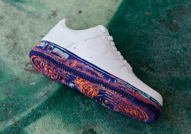 Air Force 1 '07 LV8 'Multi-Color Marble' 7