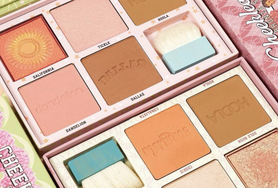 Benefit Cosmetics The Cheekleaders Cheek Palette