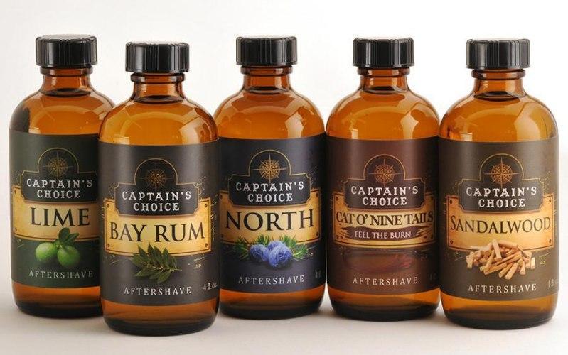 Captain's Choice Aftershave Splash