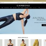 Carbon38 home page screenshot on May 15, 2019