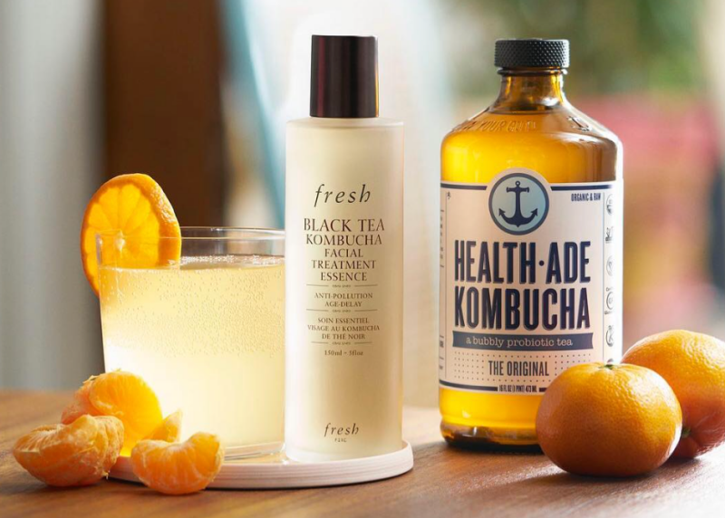 Fresh Black Tea Kombucha Antioxidant Essence