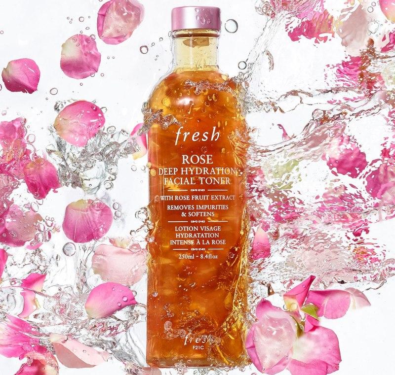 Fresh Rose Deep Hydration Facial Toner