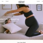Girlfriend Collective home page screenshot on May 16, 2019