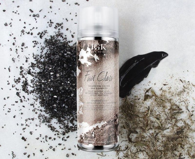 IGK First Class Charcoal Detox Dry Shampoo 1