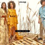 Julian Fashion home page screenshot on May 13, 2019
