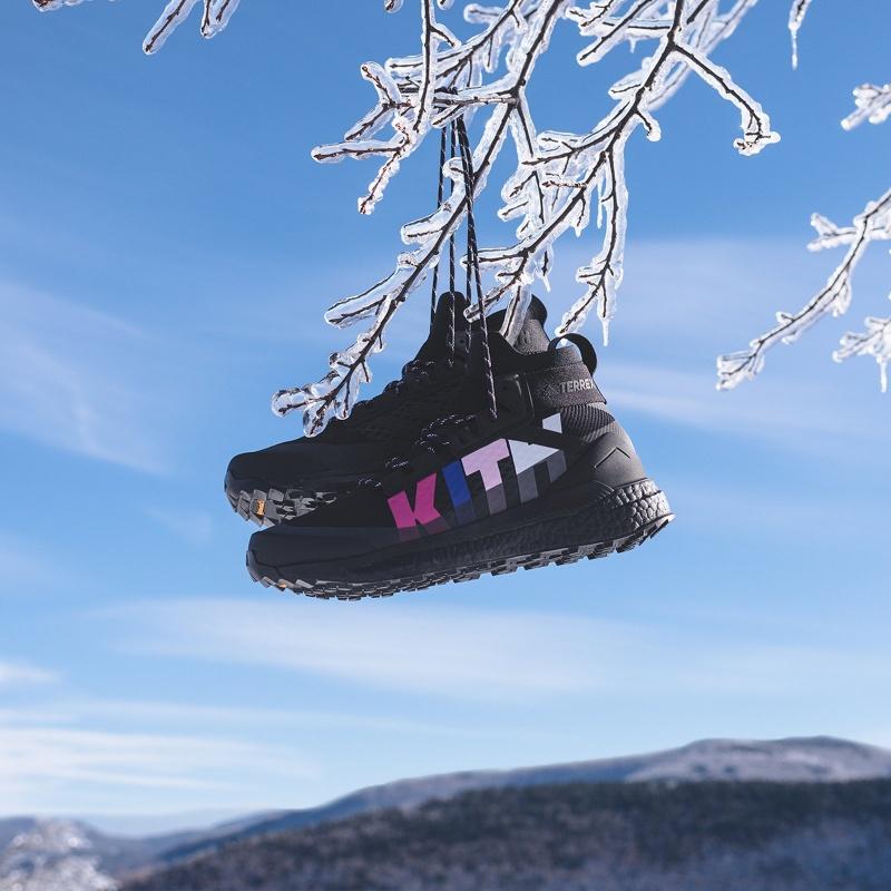 timeless design 0ef0a 98d85 Kith x Adidas Terrex Free Hiker 'Super Storm' Review
