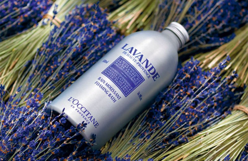 L'Occitane Lavender Harvest Foaming Bath