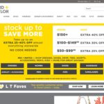 Lord + Taylor home page screenshot on May 14, 2019