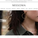 Missoma home page screenshot on May 1, 2019