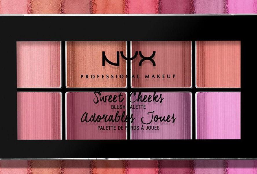 NYX Cosmetics Sweet Cheeks Blush Palette
