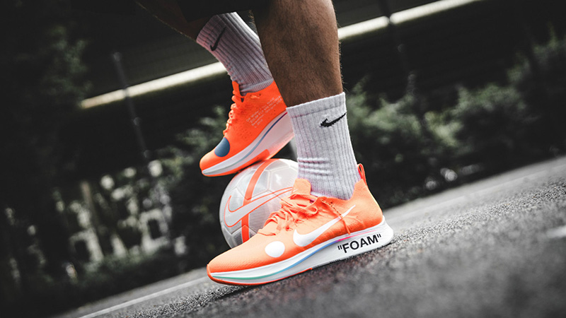 715027bf27af Off-White x Nike Zoom Fly Mercurial Flyknit  White Orange  Review