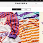 Pacsun home page screenshot on May 10, 2019