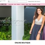 Saved by the Dress home page screenshot on May 14, 2019