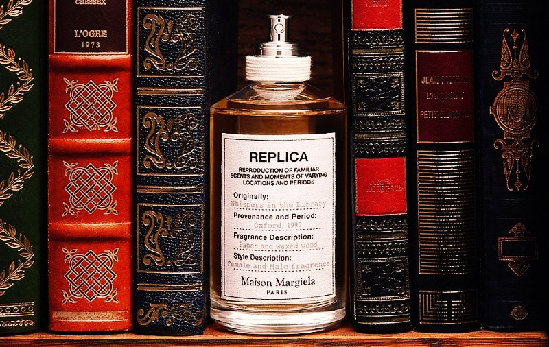 Replica Whispers in the Library by Maison Martin Margiela Review 2
