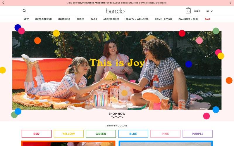 ban.do home page screenshot on May 3, 2019