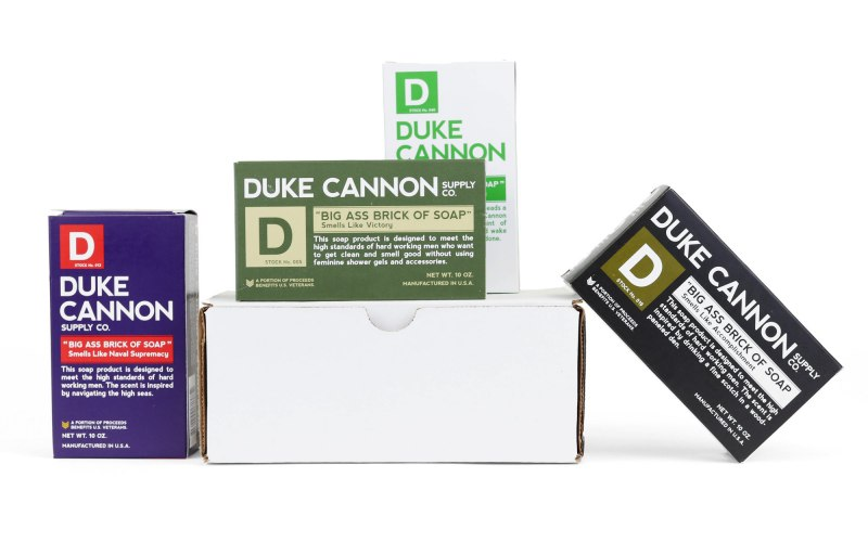 Duke Cannon's Men's WWII Era Big Brick of Soap