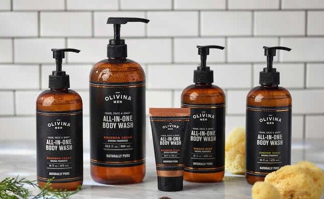 Olivina Men All-in-One Body Wash
